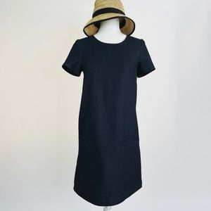 Cuyana Denim Mini Dress
